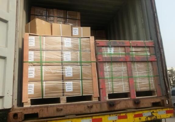 Custom metal stamping parts waiting export