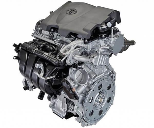Toyota thermal efficiency engine