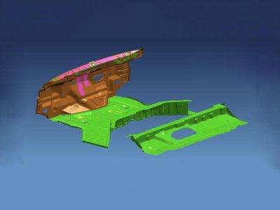 4.Car floor parts