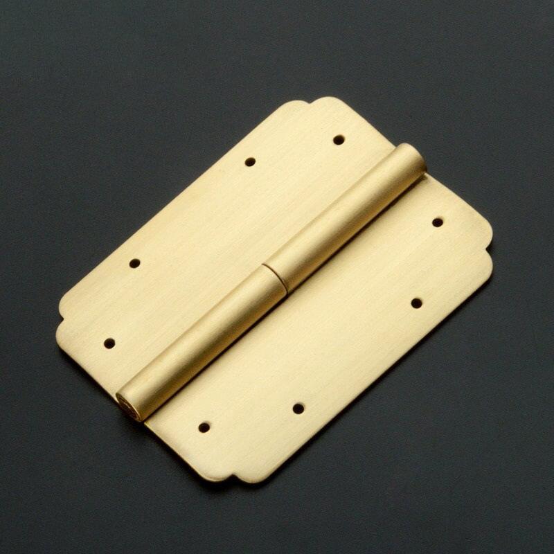 Brass stamping supplies, brass stamping hinge