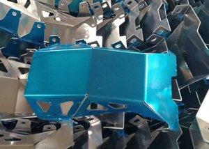 Sheet metal pressed components, sheet metal press parts