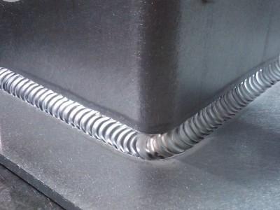 aluminium stamping parts welding-1