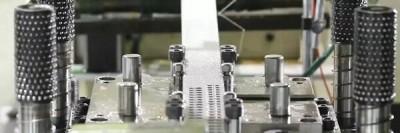 2. Progressive metal stamping service