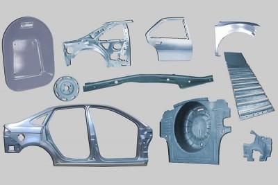 29. Auto parts by Metal stamping dies